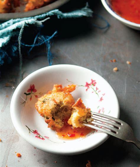 marilou cuisine acras de morue artichaut et coriandre de marilou