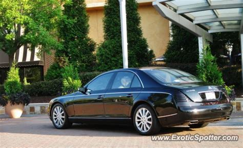Maybach Atlanta by Mercedes Maybach Spotted In Atlanta On 08 16 2012