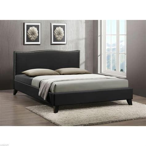 Wood Framed Upholstered Headboard by Size Upholstered Platform Bed Frame Wood Bedroom