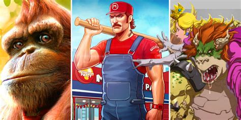 20 Crazy Fan Redesigns Of Mario Characters Screen Rant