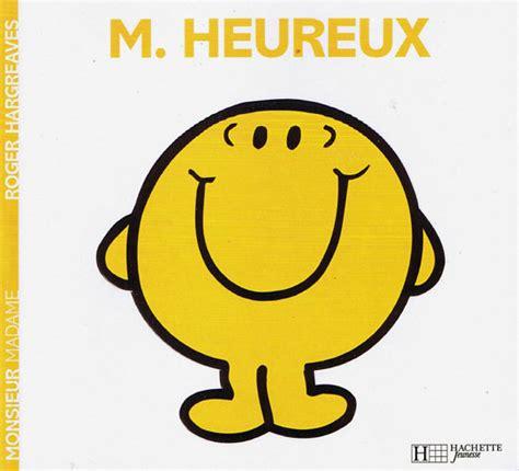 mr happy in monsieur heureux roger hargreaves linguist
