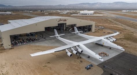 concrete business cards stratolaunch rolls out aircraft spacenews com