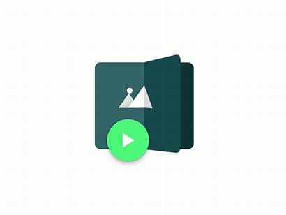 Icon Animated App Gifs Icons Material Kickstarter