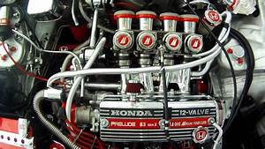 1983 Honda Prelude Mikuni Bst36 Four Itb Carb - First Start  March 1  2013