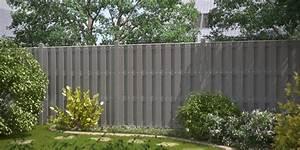 Sichtschutz Garten Grau : zaun traumgarten jumbo wpc grau ~ Sanjose-hotels-ca.com Haus und Dekorationen