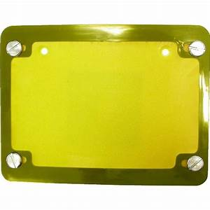 Aw Motorcycle Parts  Number Plate Surround 6 Digit Gold