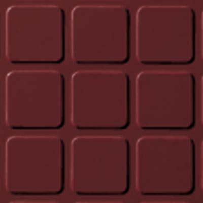 roppe rubber tile 994 roppe raised design raised square design cinnabar