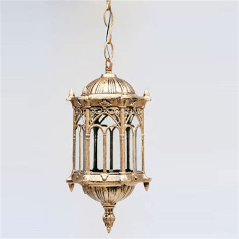 outdoor bronze lantern ceiling pendant lighting garden