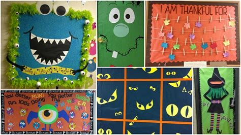 25 Fall Bulletin Boards And Door Decorations For Your