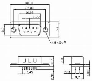 Rs232 Connector Pinout  Configuration  Features  Circuit
