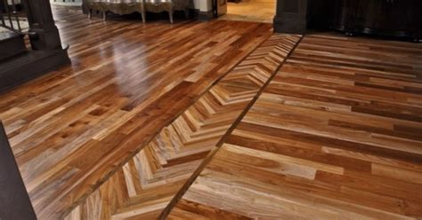 borders  rooms  blend    hardwood