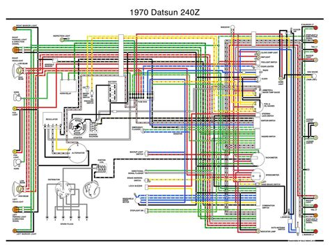 Datsun Wiring Diagram Transcribed The Only