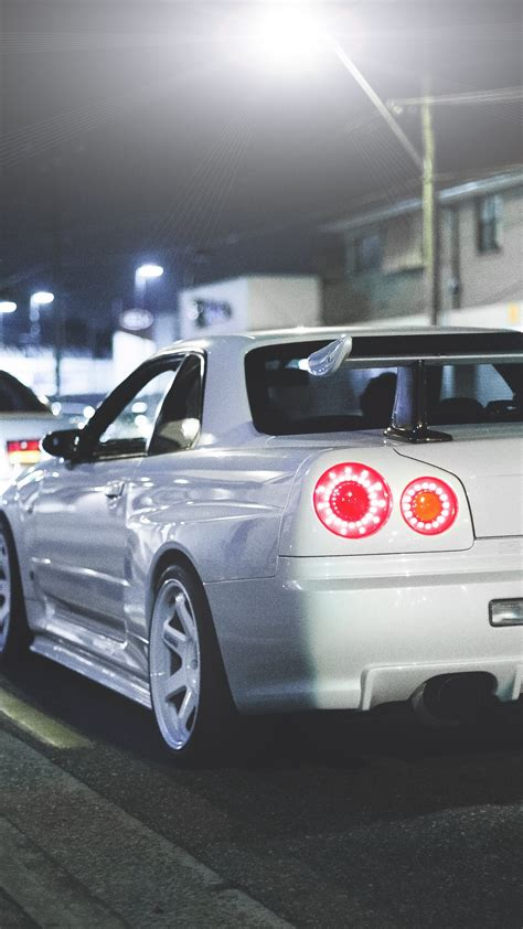 Skyline Gtr Wallpaper Iphone X by Wallpaper 1350x2400 Nissan Skyline R34 Gt R