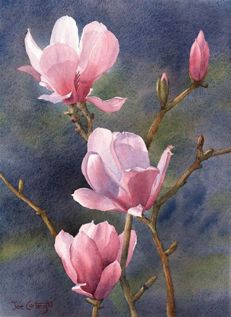 197 Best Images About Watercolor Flowers On Pinterest