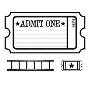 blank admit  ticket template clipart  clipart