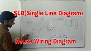 Sld Single Line Diagram   House Wiring Diagram   Wiring Map