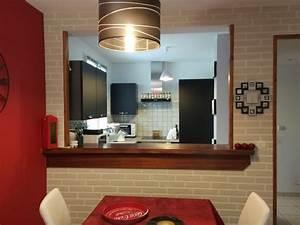 relooking passe plat cuisine americaine With passe plat cuisine salon