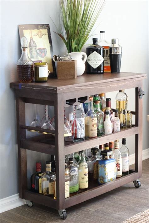 Rolling Bars For Home bar carts home tours and rolling bar cart on