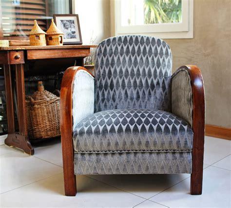 tissus deco 1930 l atelier de marjorie alais fauteuil d 233 co r 233 fection traditionnelle assise 224 guindage