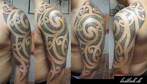 Tatouage Tribal Maorie : tatuaje hombro tribal maori por bodliak tattoo ~ Melissatoandfro.com Idées de Décoration