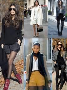 wear shorts  cold weather  fashiongumcom