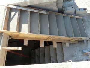 das betonvolumen fuer eine treppe berechnen