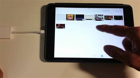 apple ipad video file transfer  lightning  sd card
