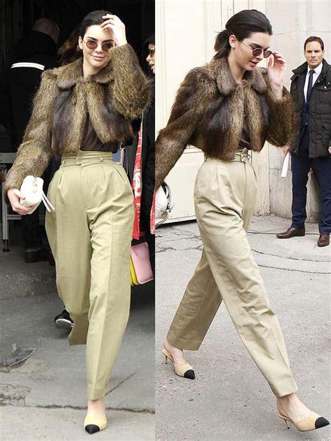 Cara Delevingne Gigi Hadid Bella Hadid Kendall Jenner Walk in Paris Chanel Show