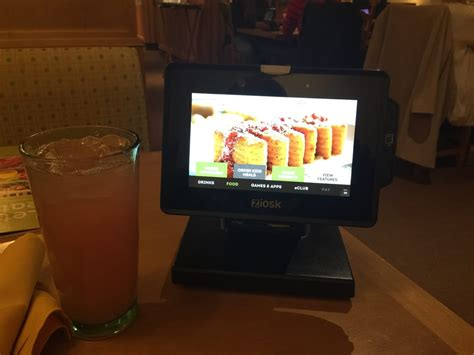 olive garden high point nc new ordering kiosks at each table you can order food