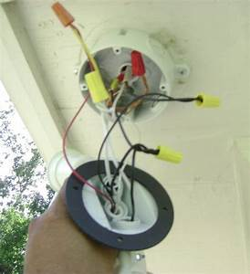 How To Wire Two Floodlights To An In