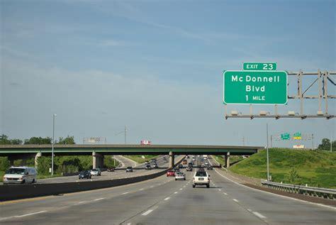Interstate 270 East - Bridgeton to New Chain of Rocks ...