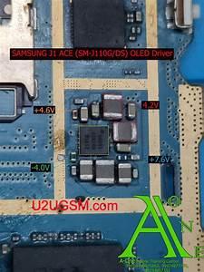 Samsung Galaxy J1 Ace J110 Cell Phone Screen Repair Light