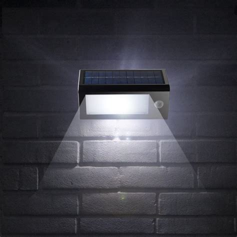 motion light battery powered solar powered outdoor motion sensor security 32 led lights