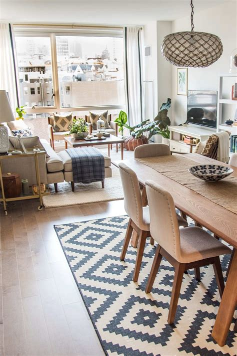 decorating ideas for open concept living room and kitchen
