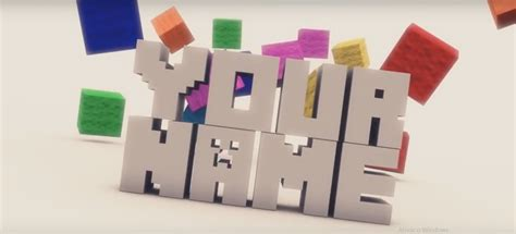 cool minecraft intro template no download intro edit 225 vel minecraft para cinema 4d download template