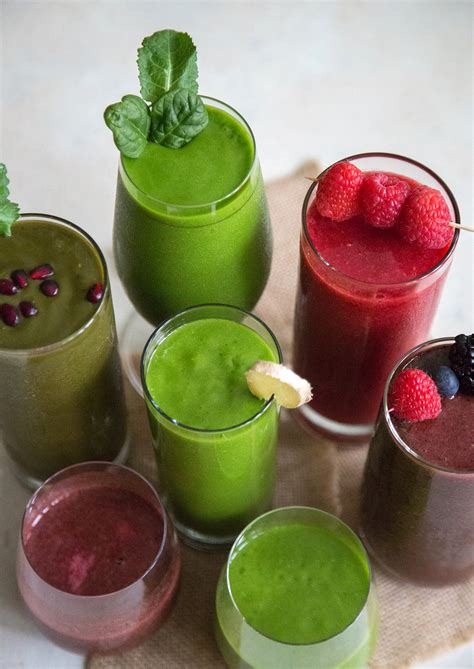 5 Fruit and Veggie Smoothies- The Little Epicurean