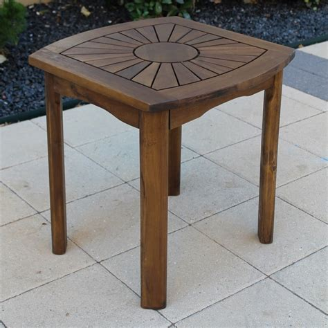 outdoor patio side table vf 4135