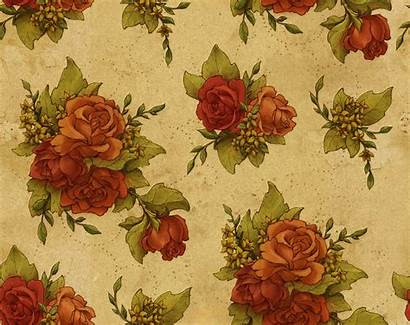 Floral Dark Seamless Patterns Wallpapers Pattern Background