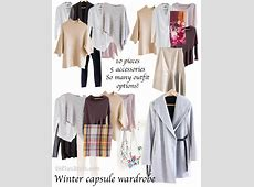 How to create lots of outfit with a capsule wardrobe for