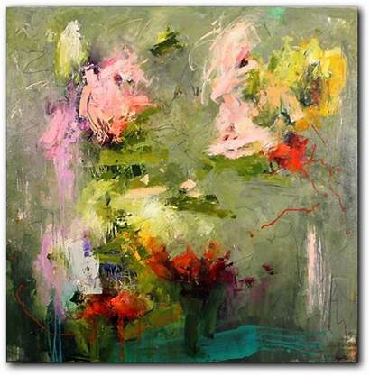 Ryder Conn Abstract Artist Painting Flowers Paintings