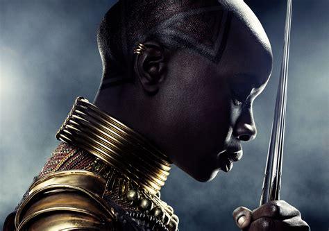 Wallpaper Black Panther, Danai Gurira, 5k, Movies #17504
