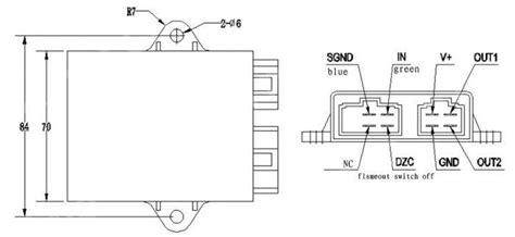 yamaha cdi box wiring diagram new digital ignition cdi box for yamaha virago vstar xv 250 qj250v lf250v zs250v ebay