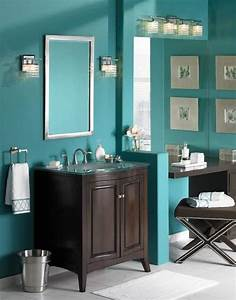 turquoise bathroom will i need to paint my cabinets With turquise bathroom