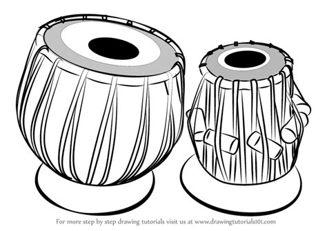 Choose your favorite indian musical instrument paintings from 70 available designs. Learn How to Draw a Tabla (Musical Instruments) Step by ...