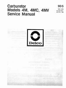 Rochester Quadrajet Manual  1973     Image01 Jpg