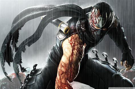 black  white ninja assassin wallpapers top  black