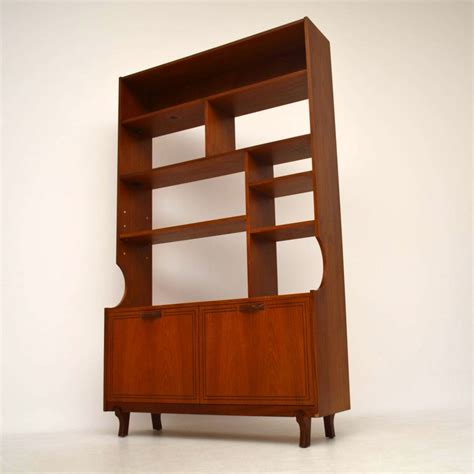Retro Bookcase by Teak Retro Bookcase Cabinet Room Divider Vintage 1960
