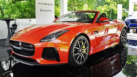 Jaguar F Type Sound by Jaguar F Type Svr Convertible Exhaust Sound Start Up