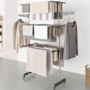 étendoir à Linge Intérieur : etendoir linge d 39 int rieur achat vente etendoir ~ Premium-room.com Idées de Décoration