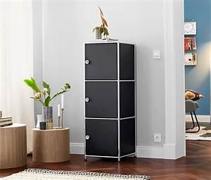 Türen Online Bestellen : schmales metall regal mit 3 t ren online bestellen bei tchibo 364460 ~ Frokenaadalensverden.com Haus und Dekorationen